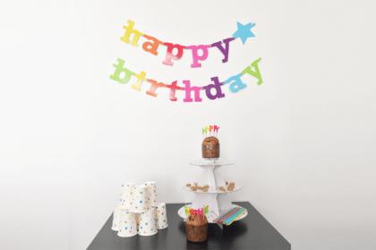 Une décoration d'anniversaire à moins de 15 euros ! www.soodeco.fr/
