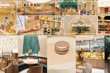 86 Champs – le premier concept store l'Occitane en Provence x Pierre Hermé ! www.soodeco.fr