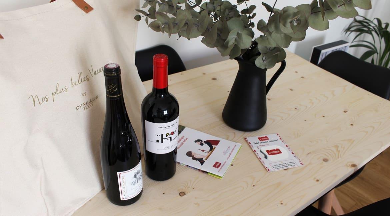 Idée cadeau pour les amoureux du vin www.soodeco.fr/