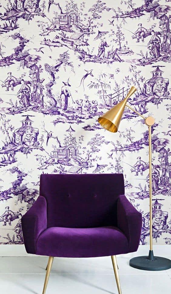 Comment adopter l'ultra-violet pour son intérieur www.soodeco.fr/