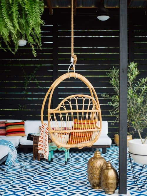 Le patio DIY de Old Brand New www.soodeco.fr/