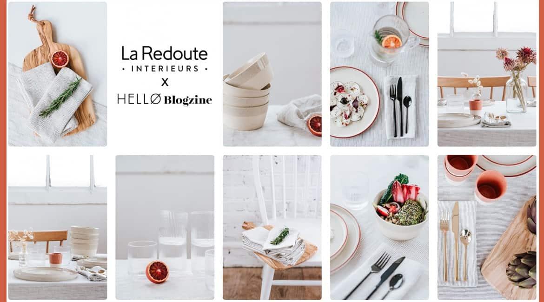 La collab' à adopter: quand Hello Blogzine rencontre La Redoute www.soodeco.fr/