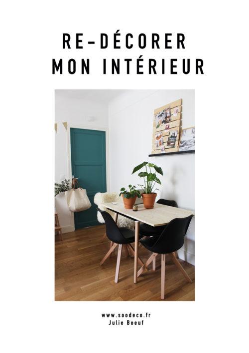 Re-décorer mon intérieur www.soodeco.fr/