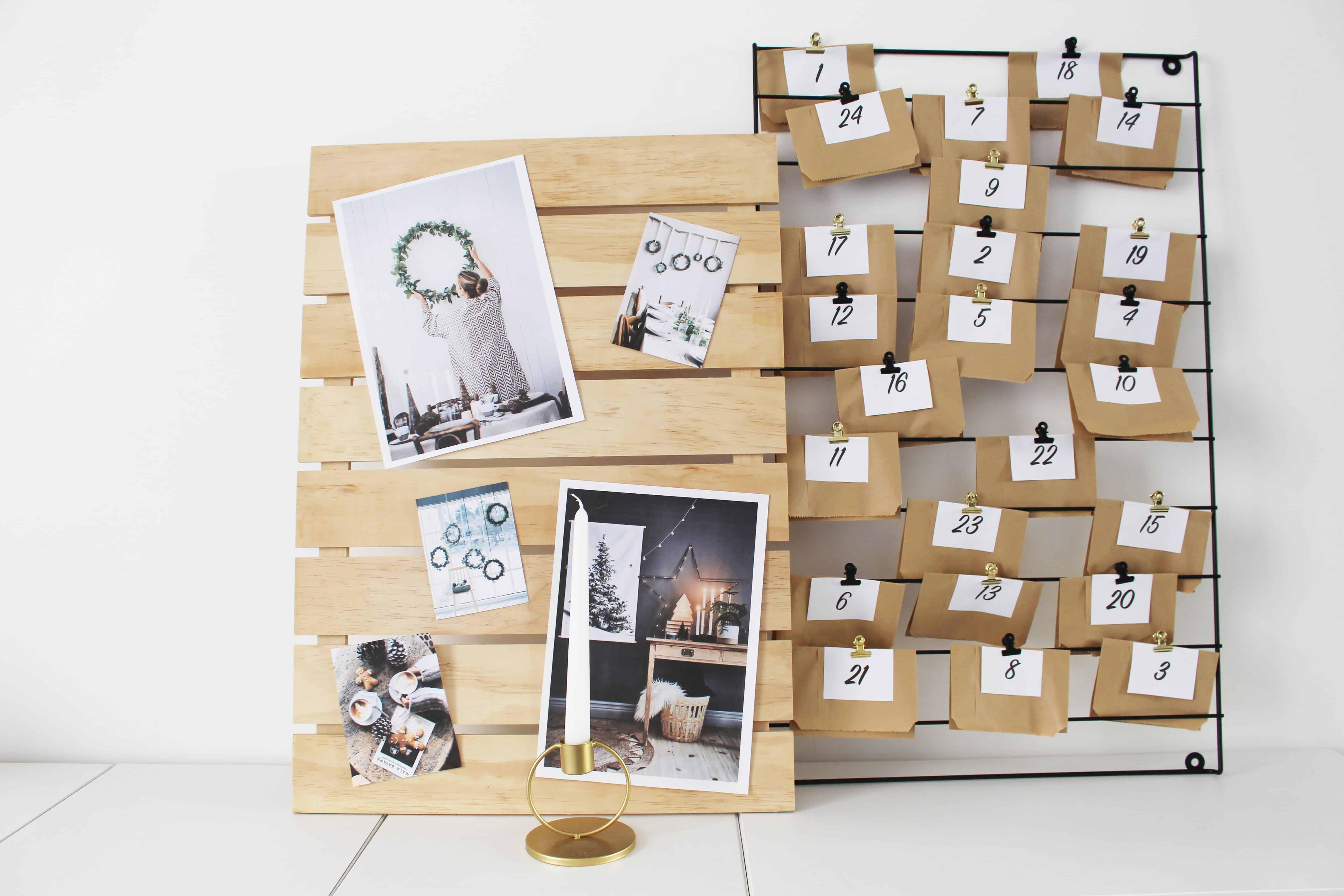 Calendrier de l'avent DIY www.soodeco.fr/