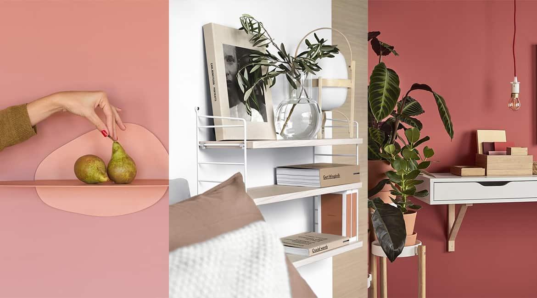 Les étagères murales envahissent ... nos murs www.soodeco.fr/