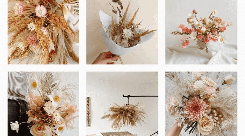 Atelier Prairies, fleurs séchées www.soodeco.fr/