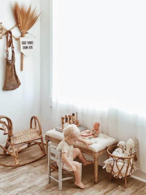 5 raisons d'opter pour une chambre de bébé rustique www.soodeco.fr/