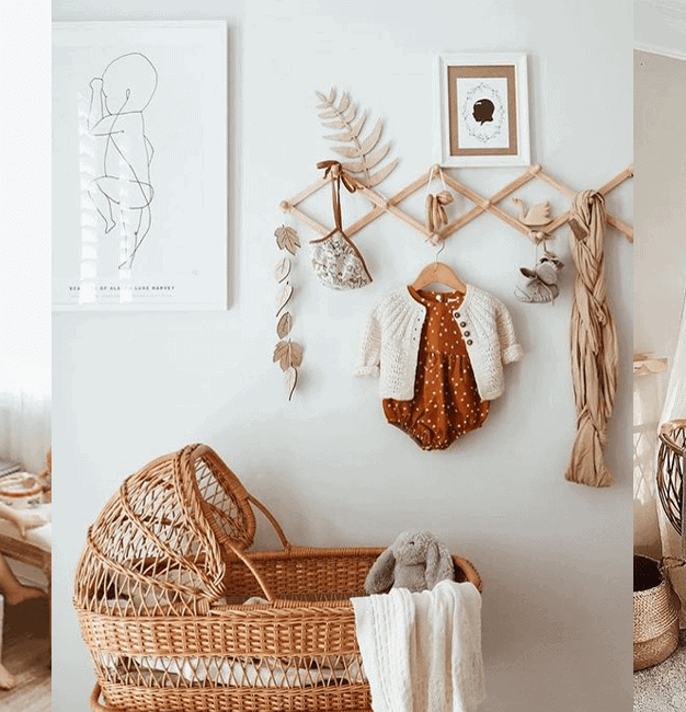 5 raisons d'opter pour une chambre de bébé rustique