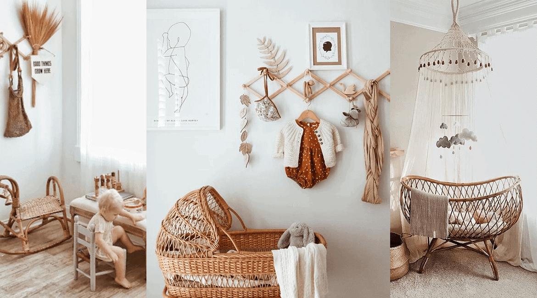 5 raisons d\'opter pour une chambre de bébé rustique - Soo Deco