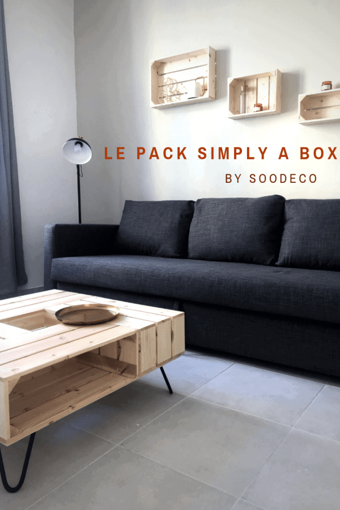 Le pack Simply A Box by Soo Deco www.soodeco.fr/
