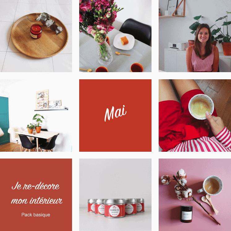 L'instagram de soodeco, avril et mai 2019 www.soodeco.fr/