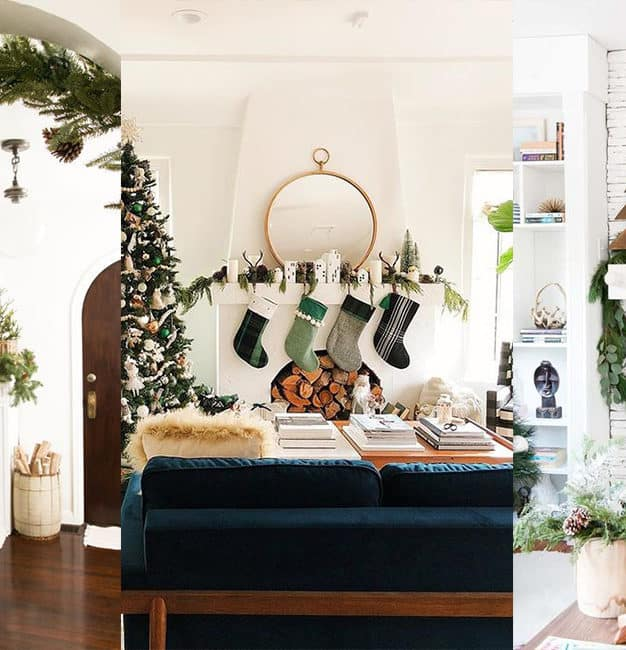 Décorer sa cheminée pour Noël