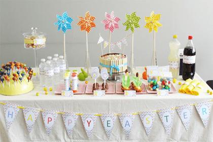 Qui dit fête de Pâques sous-entends réunion de famille autour d'une table qui se doit d'être à la hauteur des mets raffinés qui viendront l'habiller ! www.soodeco.fr