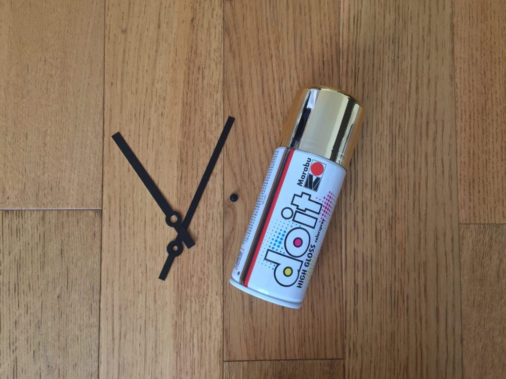 Je fais une horloge DIY ! www.soodeco.fr/
