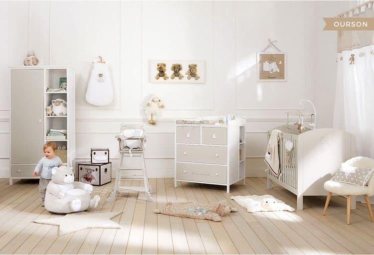 Comment décorer la chambre de bébé sans connaitre son sexe ? www.soodeco.fr/