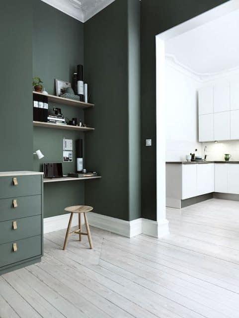 Couleur vert kaki, on aime ou on aime pas ? www.soodeco.fr/