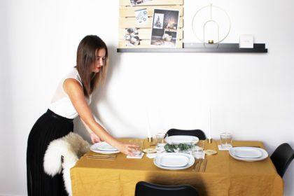 Comment réussir la décoration de la table de Noël version 2018 ? www.soodeco.fr/