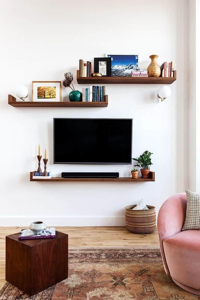 Comment décorer le mur derrière la télévision ? www.soodeco.fr/