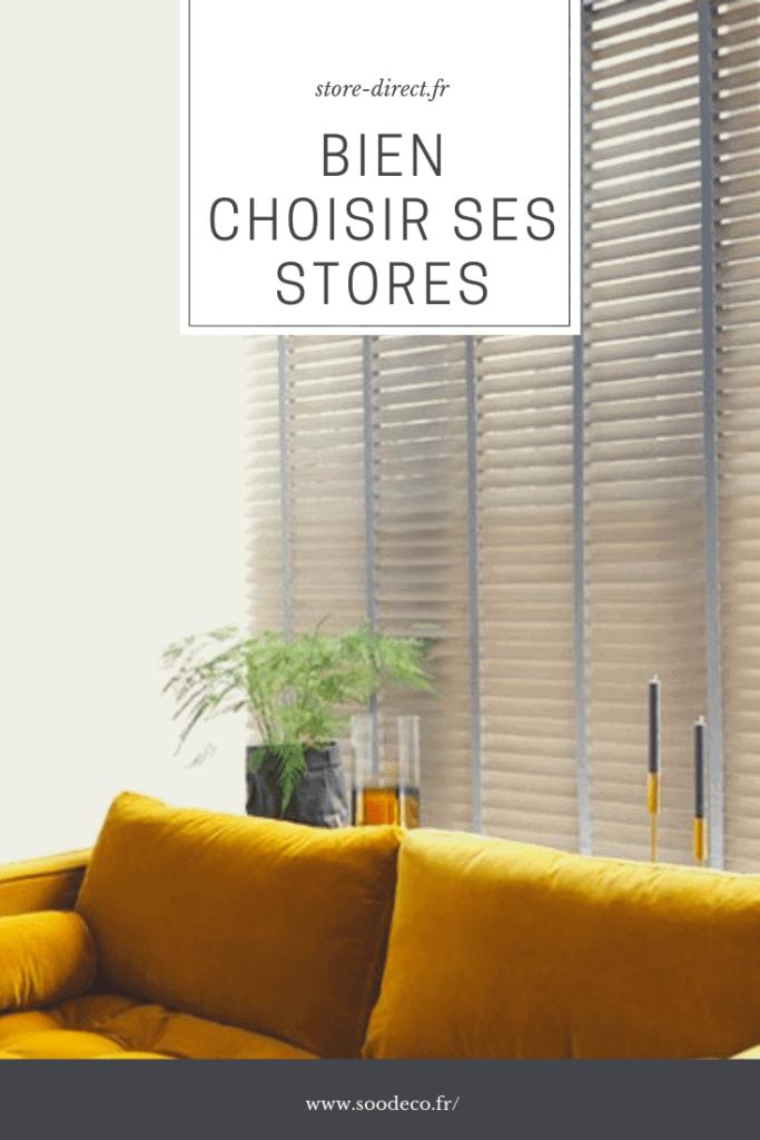 Comment bien choisir ses stores et les accorder avec sa décoration? www.soodeco.fr/