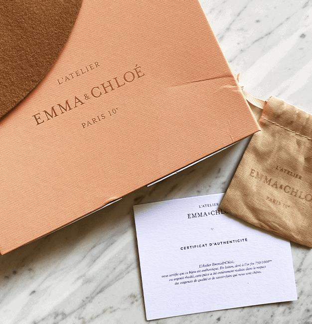 La box bijoux du mois de février Emma & Chloé