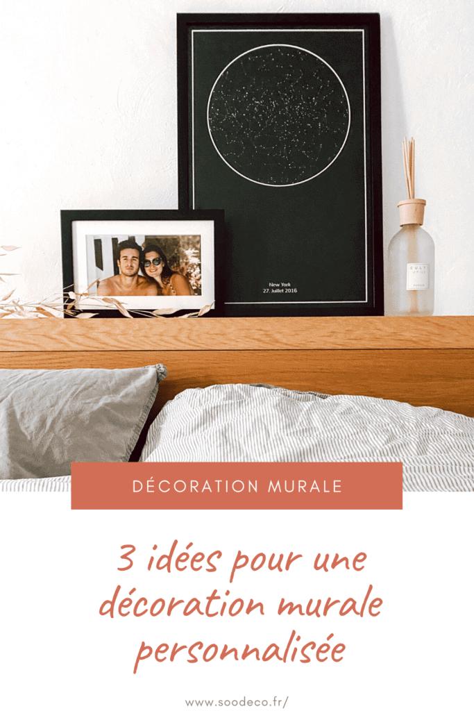3 idées pour une décoration murale personnalisée www.soodeco.fr/