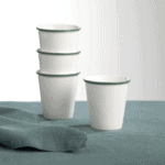 Lot 4 tasses en céramique www.soodeco.fr/