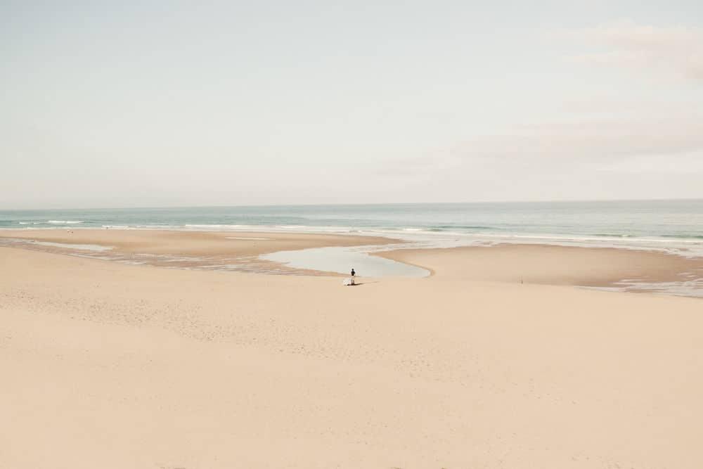 Plage de sable blanc www.soodeco.fr/