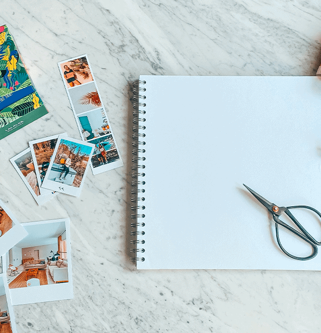 Carnet de vacances DIY