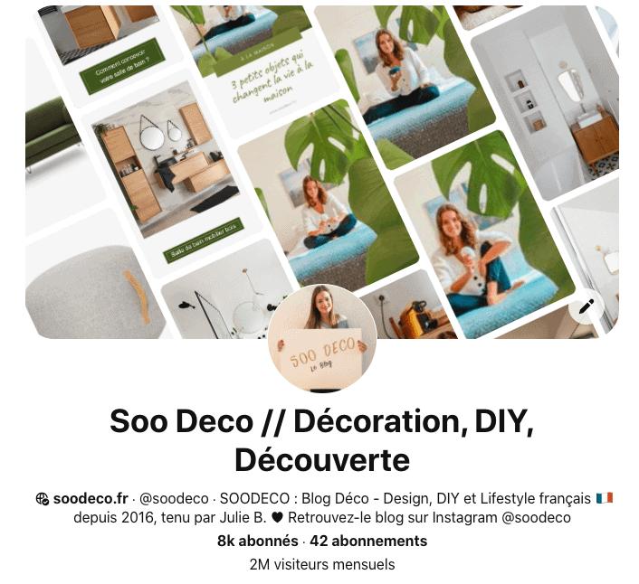 Je lance ma formation Pinterest www.soodeco.fr