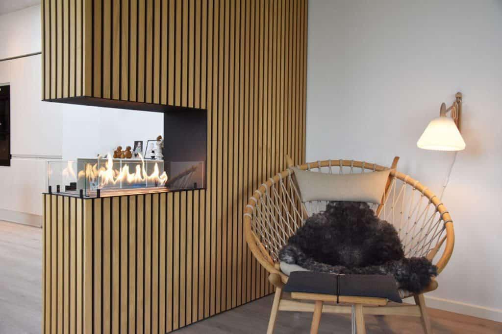 Comment réchauffer votre appartement grâce à une cheminée au bioéthanol intégrée ? www.soodeco.fr/