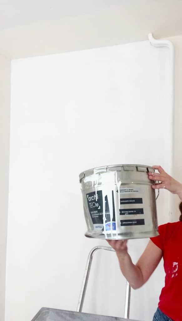 Sous-coucher ses murs et peindre son plafond avec dulux valentine
