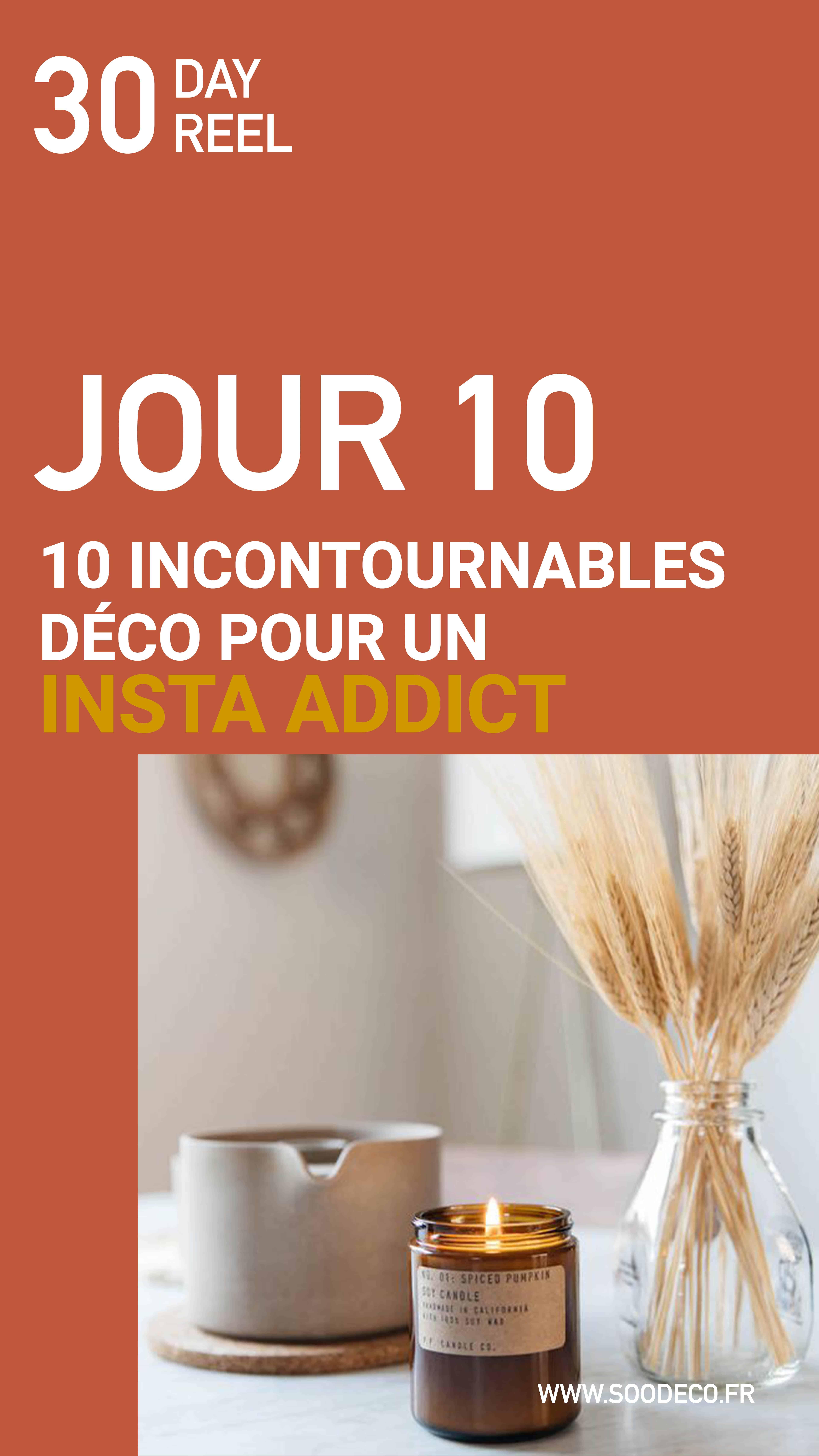 10 incontournables déco pour un insta addict