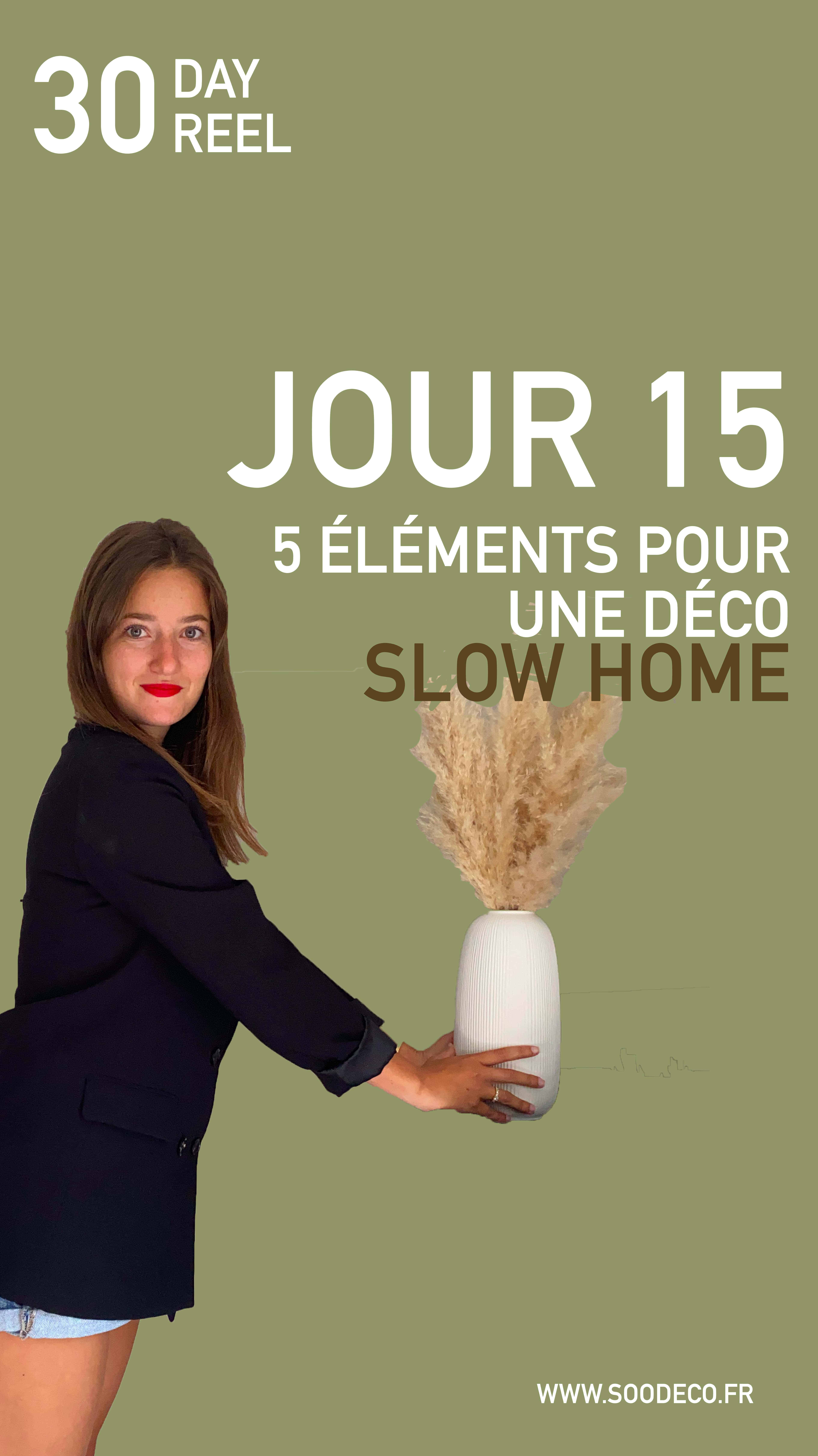 5 éléments déco pour une maison slow home - home tour