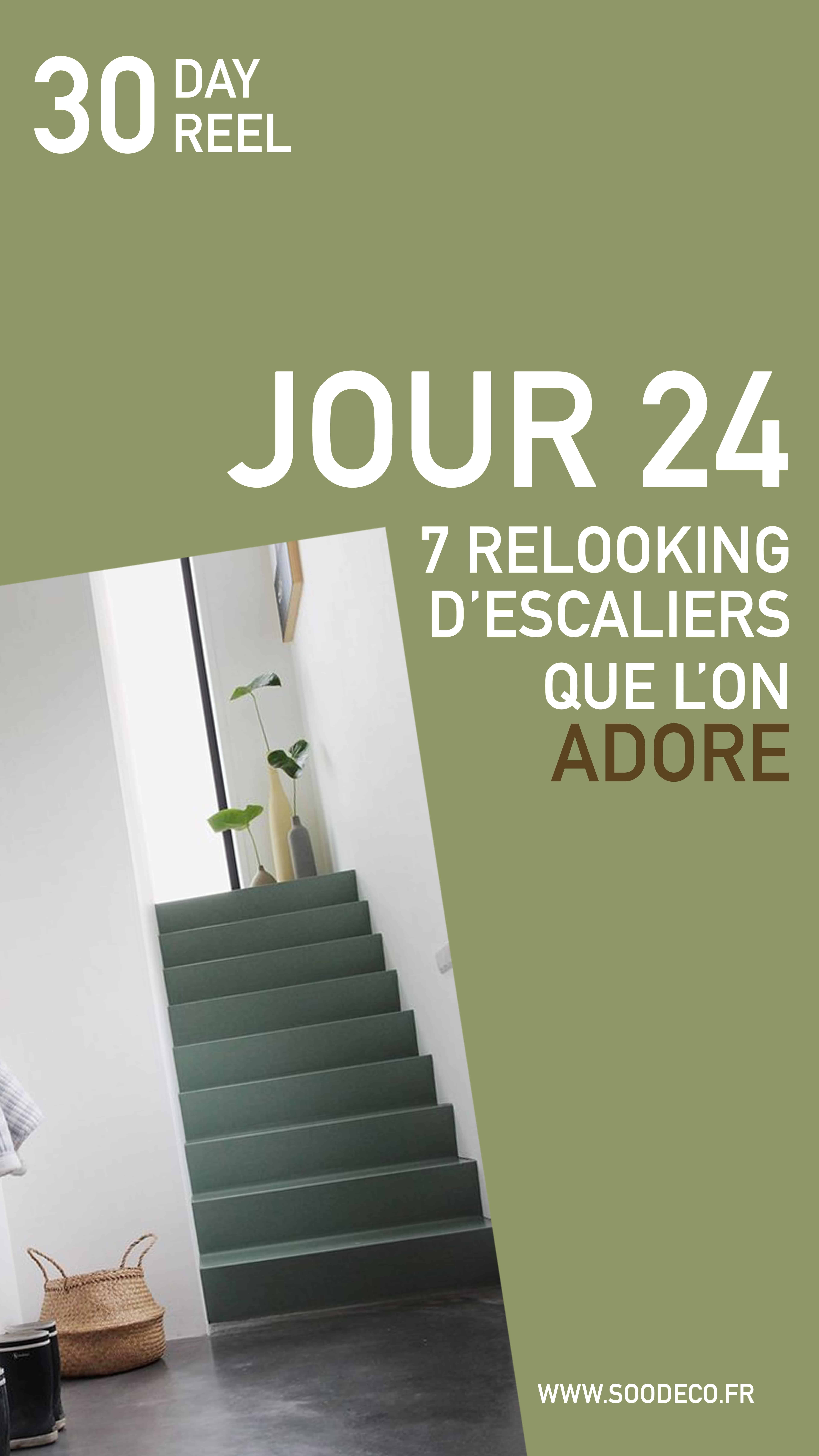7 Relooking d'escaliers qu'on adore