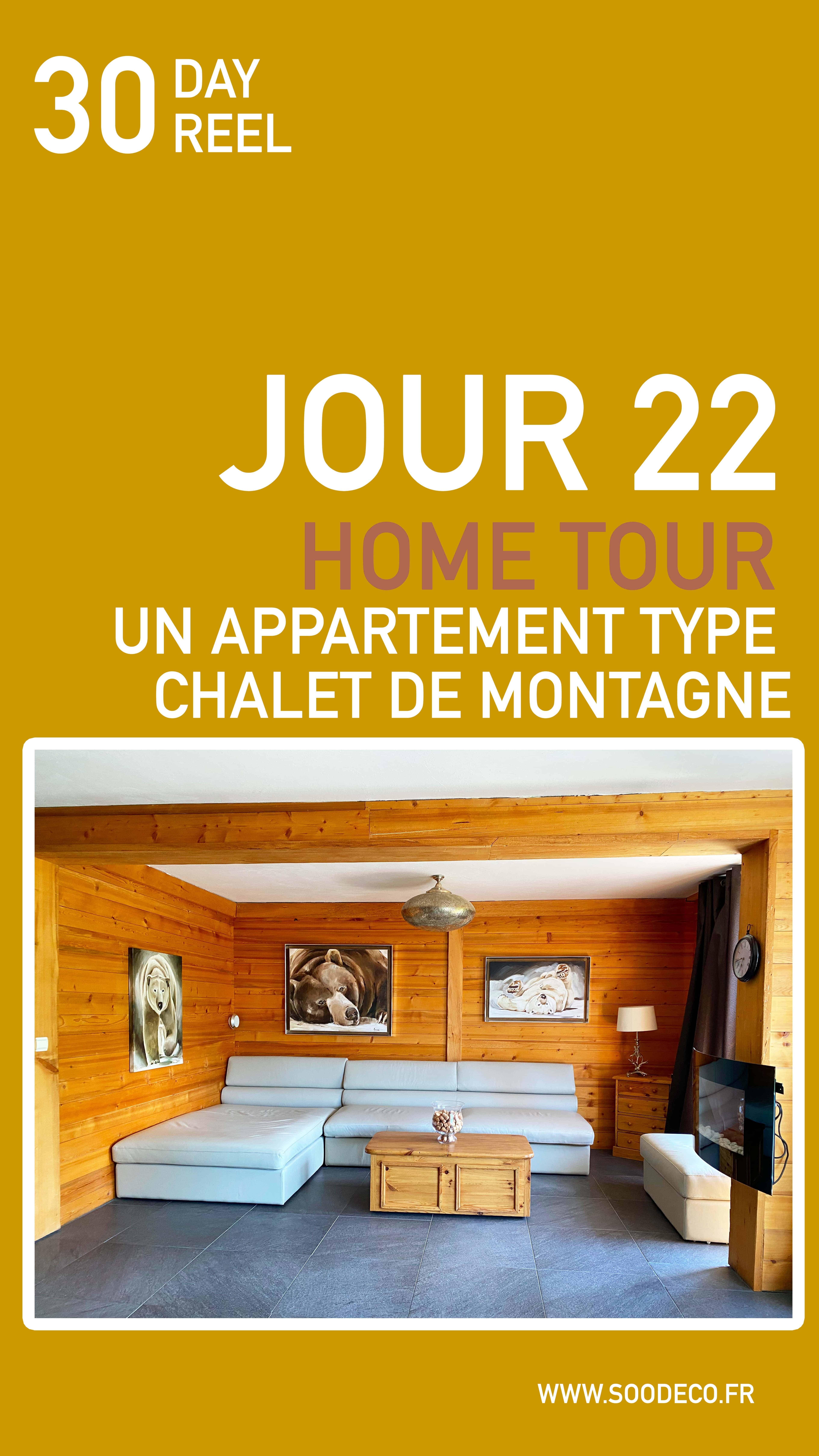 Un appartement type chalet de montagne