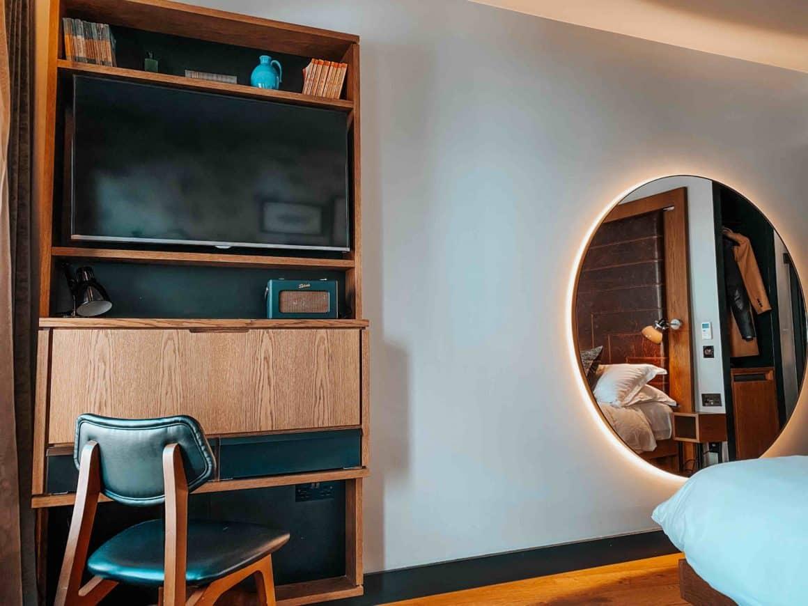 Chambre hôtel pratique secrétaire Londres